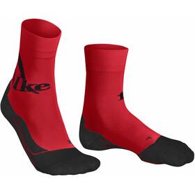 Falke RU4 Falke Calze da Corsa Uomo, rosso/nero